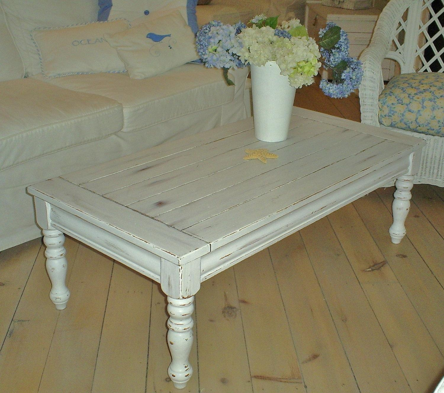 Shabby Chic Coffee Table For The Elegant One Furniture Second Hand Intended For Shabby Chic Sofa Tables (View 9 of 20)