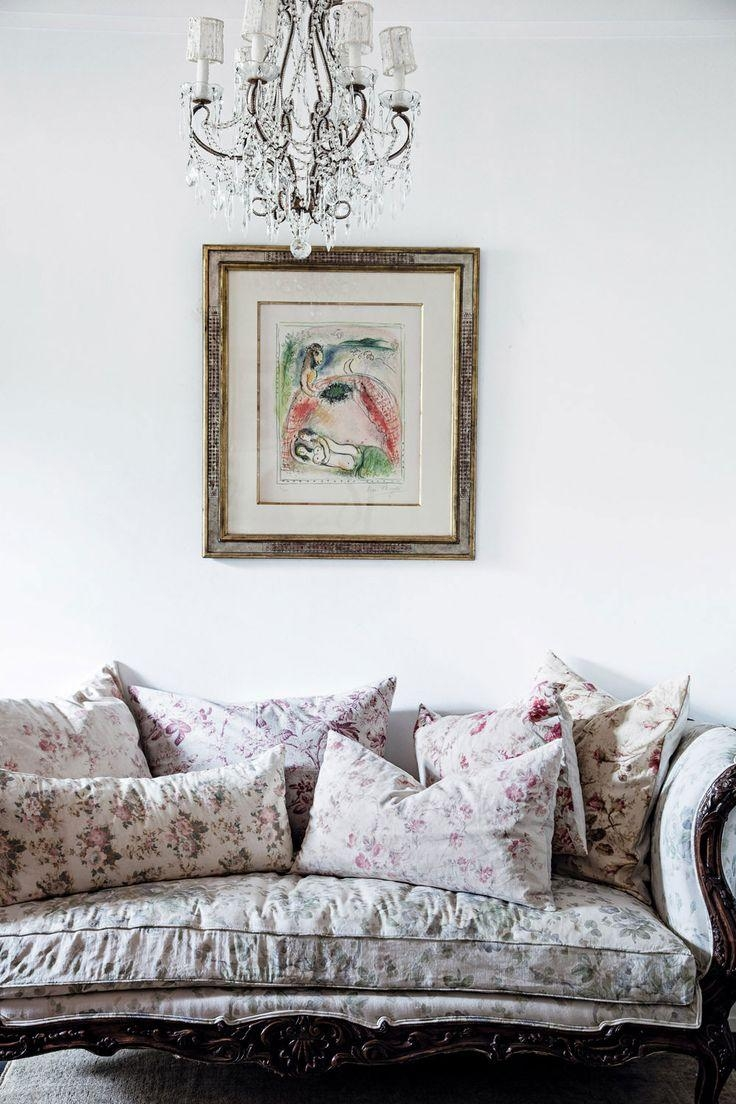 Shabby Chic Rachel Sofa Surprising Living Room Chintz Fabric Linen With Regard To Chintz Fabric Sofas (Image 19 of 20)
