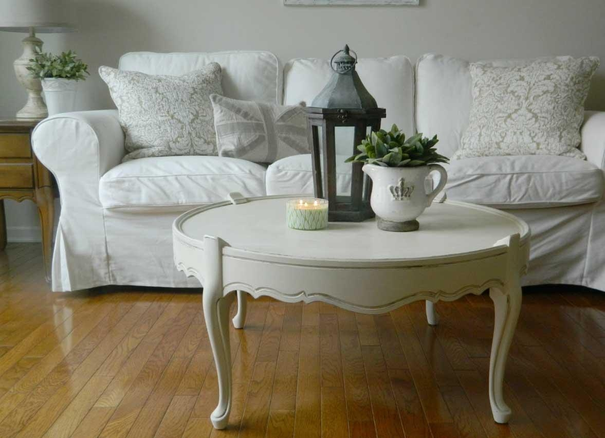 Shabby Chic Sofa Table With Design Photo 17564 | Kengire With Shabby Chic Sofa Tables (View 3 of 20)