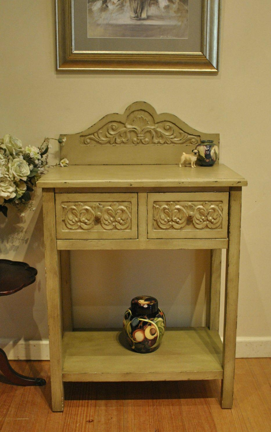 Shabby Chic Sofa Table With Inspiration Hd Gallery 17574   Kengire Regarding Shabby Chic Sofa Tables (View 15 of 20)