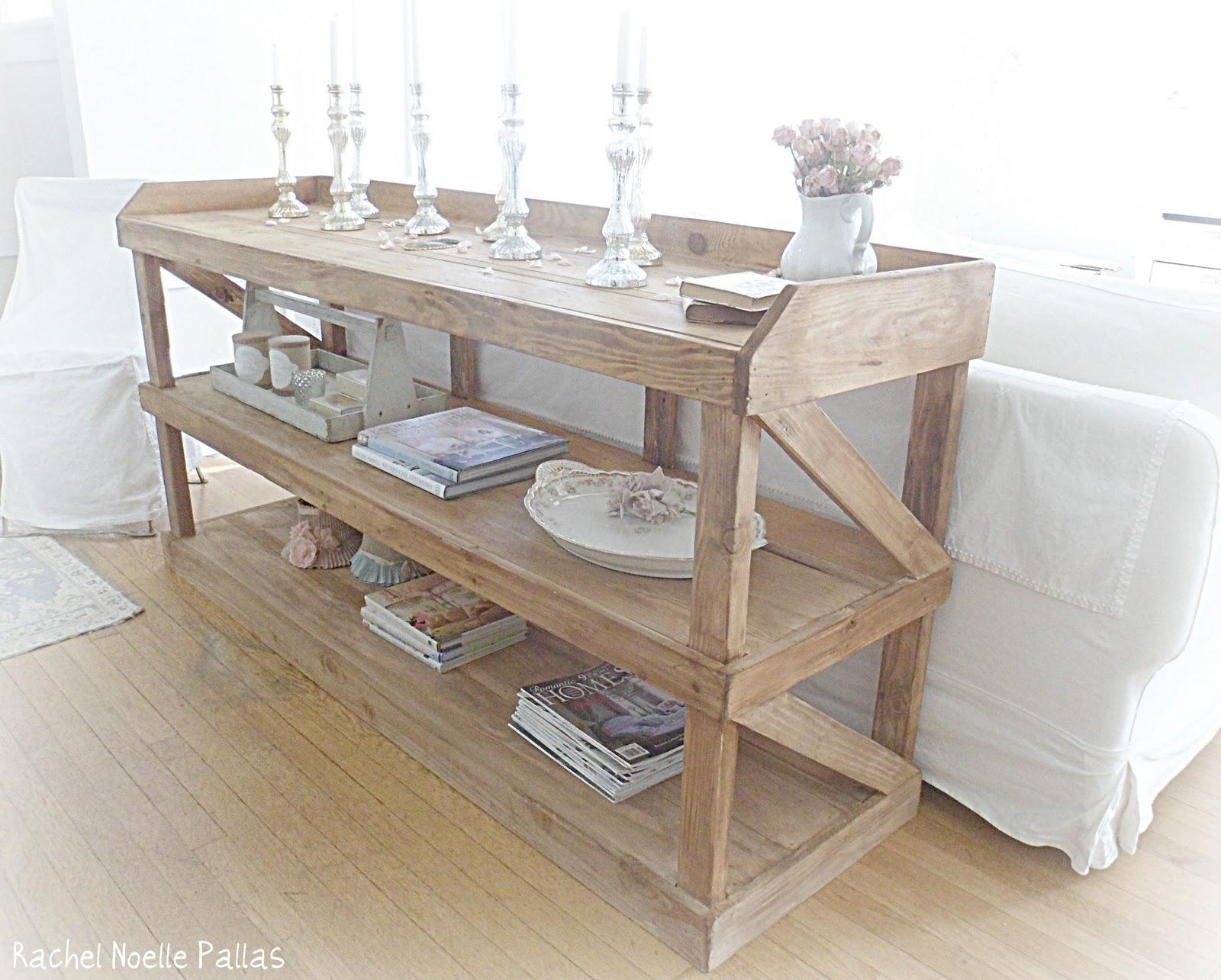 Shabby French For Me: ~ Shabby Chic Console ~ Change ~ Throughout Shabby Chic Sofa Tables (View 13 of 20)