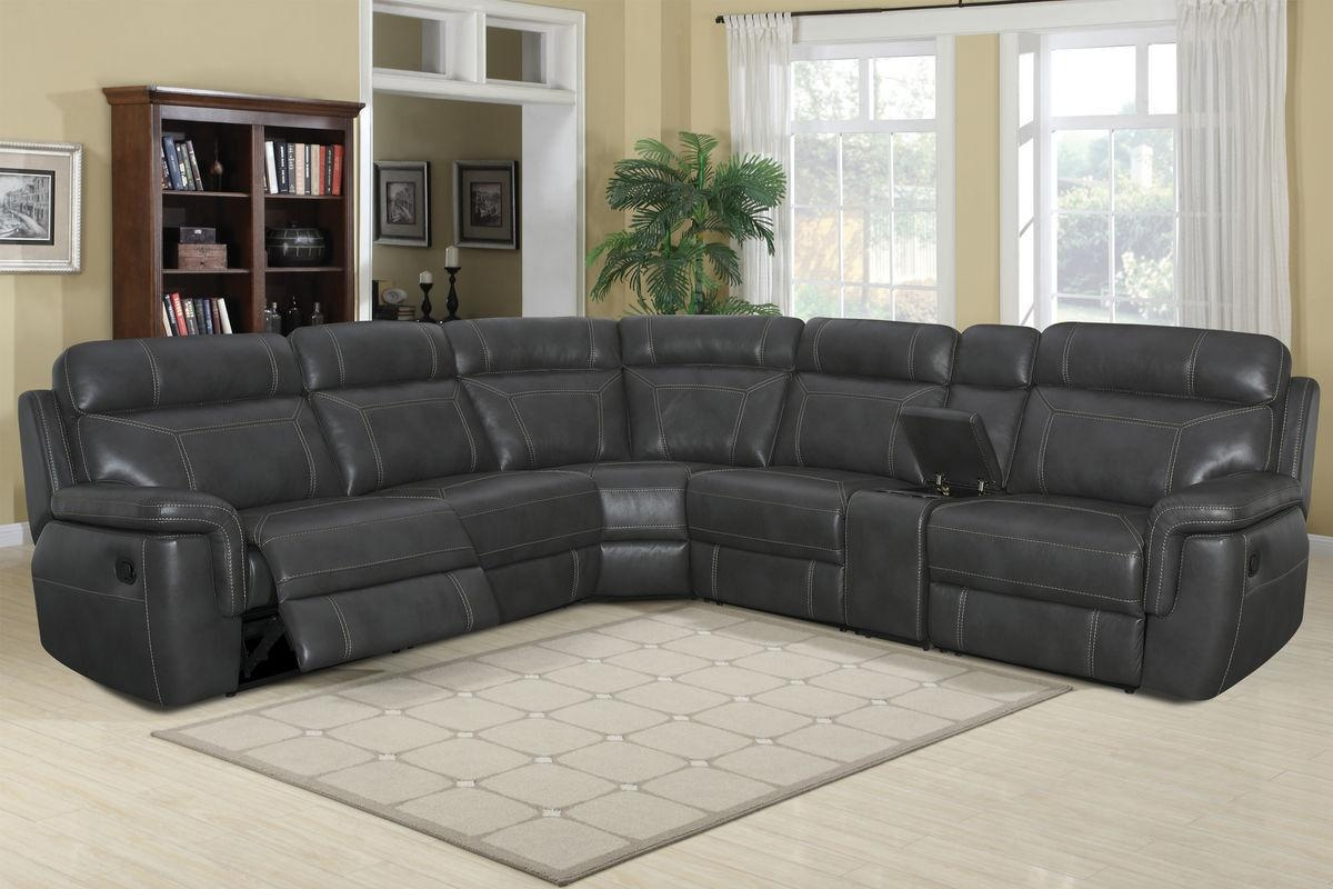Sheldon 6 Piece Sectional Pertaining To 6 Piece Leather Sectional Sofa (Image 9 of 15)