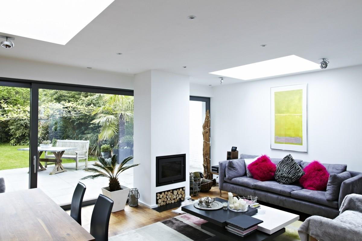 Shootfactory – London Houses – Norbiton, Kingston, Kt2 – Film, Tv Throughout Sofas For Kitchen Diner (View 6 of 21)
