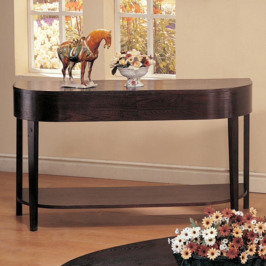 Shop Coaster Fine Furniture Gough Sofa Table At Lowes In Lowes Sofa Tables (Image 3 of 20)