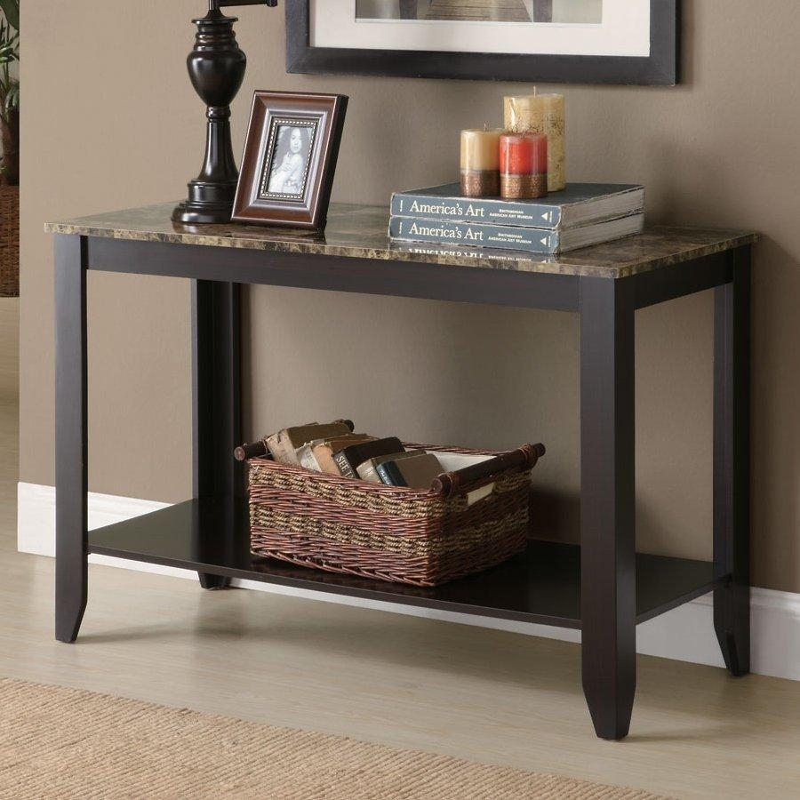 Shop Console Tables At Lowes In Lowes Sofa Tables (View 2 of 20)