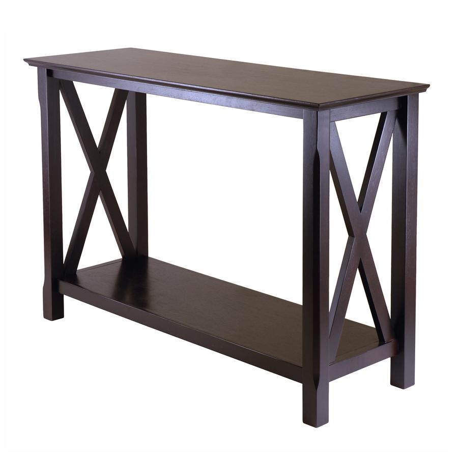 Shop Console Tables At Lowes With Regard To Sofa Back Console (View 11 of 20)