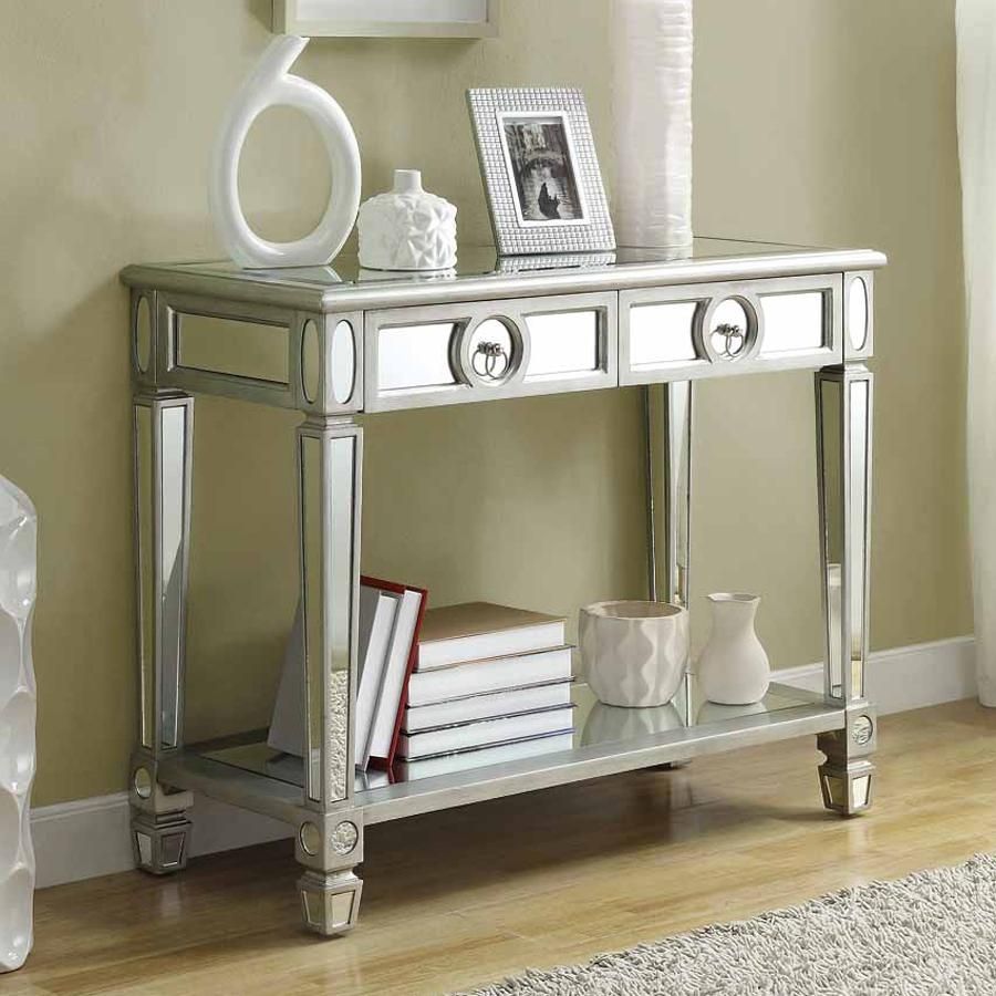 Shop Monarch Specialties Console Table At Lowes With Regard To Lowes Sofa Tables (Image 11 of 20)