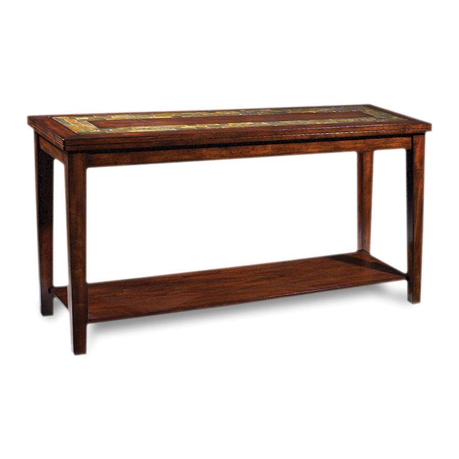 Shop Steve Silver Company Davenport Sofa Table At Lowes Within Lowes Sofa Tables (Image 13 of 20)
