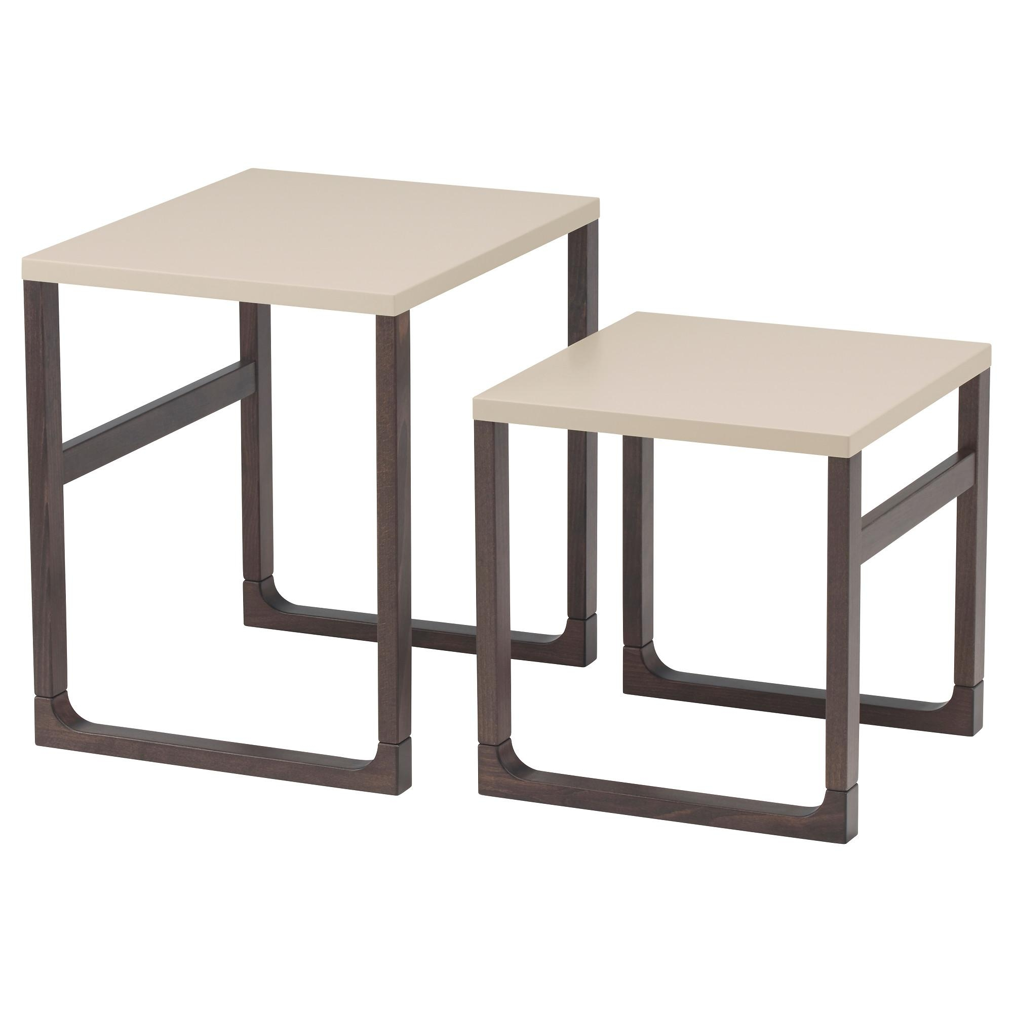 Side Tables – Glass & Wooden Side Tables – Ikea Throughout Blue Sofa Tabless (Image 19 of 20)