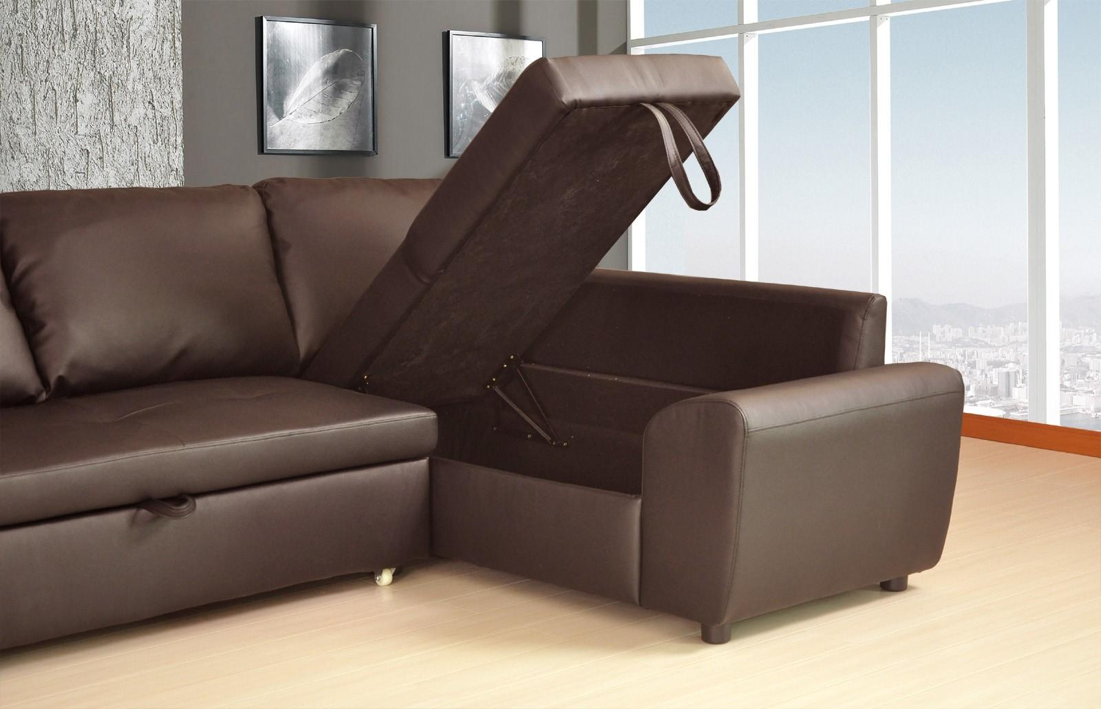 Siena Corner Sofa Bed – Leather Sectional Sofa Throughout Leather Corner Sofa Bed (Image 19 of 20)