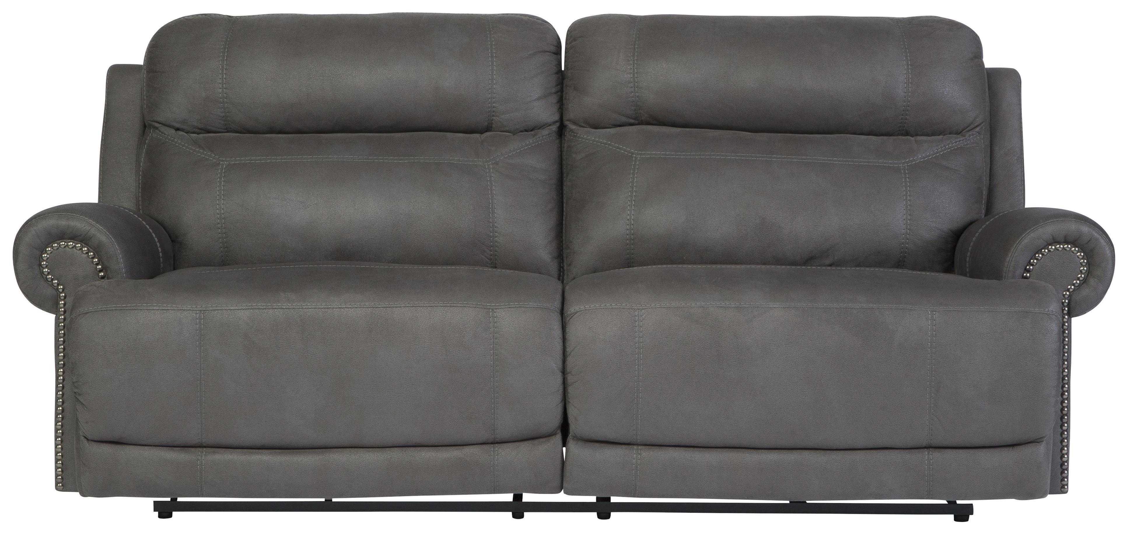 Signature Designashley Austere – Gray 2 Seat Reclining Sofa Inside 2 Seat Recliner Sofas (View 17 of 20)