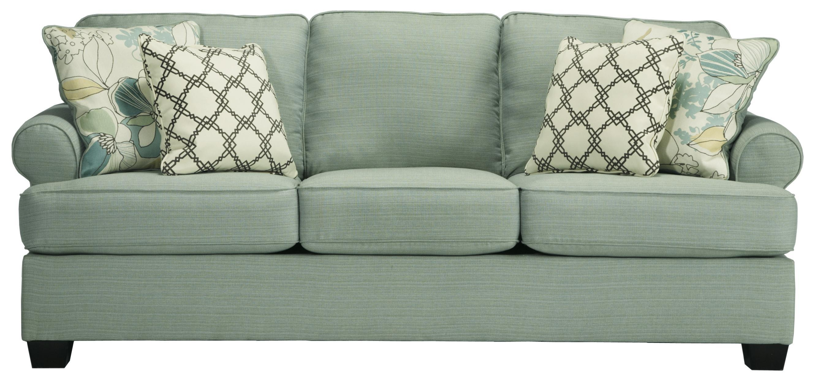 Signature Designashley Daystar – Seafoam Contemporary Queen In Seafoam Sofas (View 10 of 20)