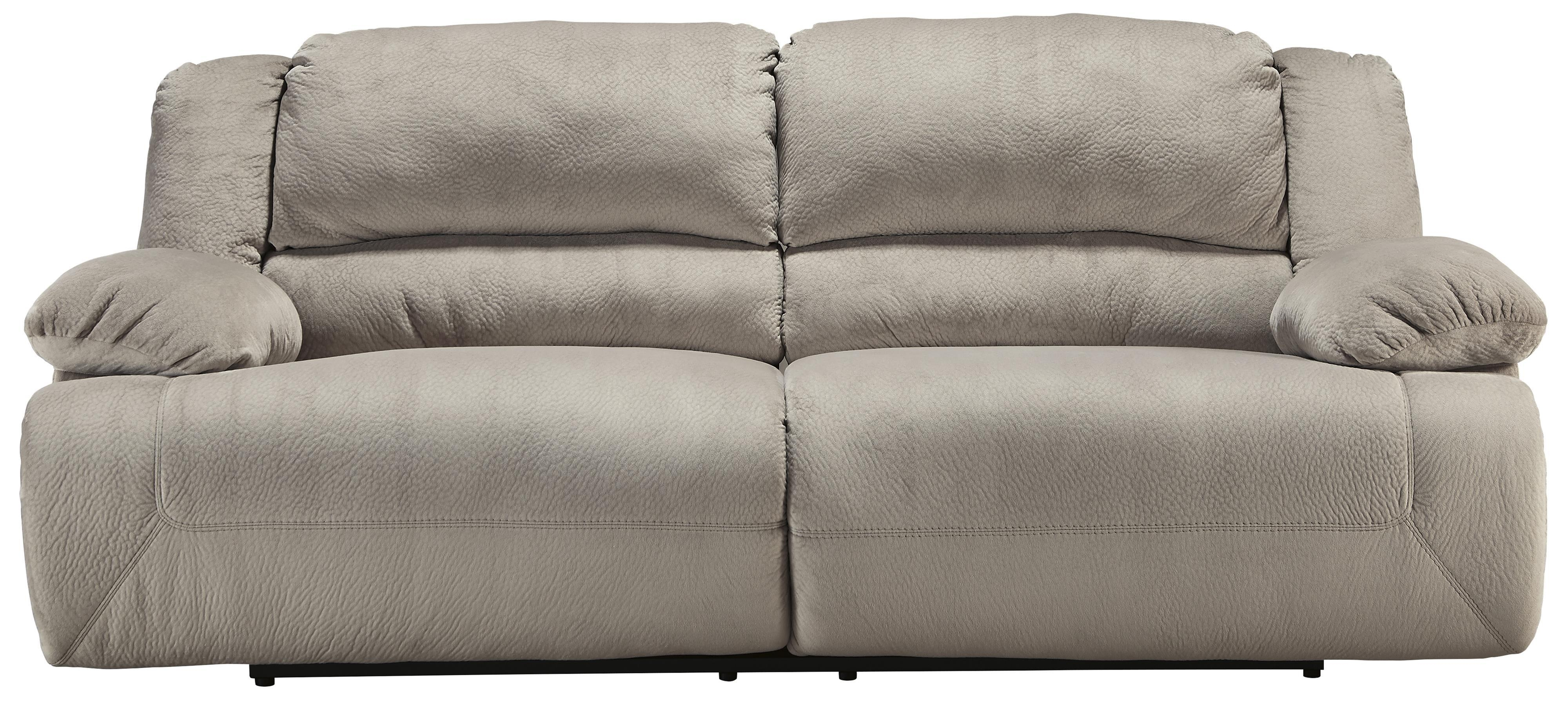 Signature Designashley Toletta – Granite Casual Contemporary 2 With Regard To 2 Seat Recliner Sofas (Image 10 of 20)