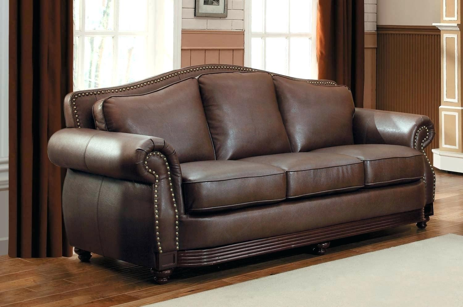 Simmons Bonded Leather Sofa – Lenspay Regarding Simmons Bonded Leather Sofas (Image 7 of 20)