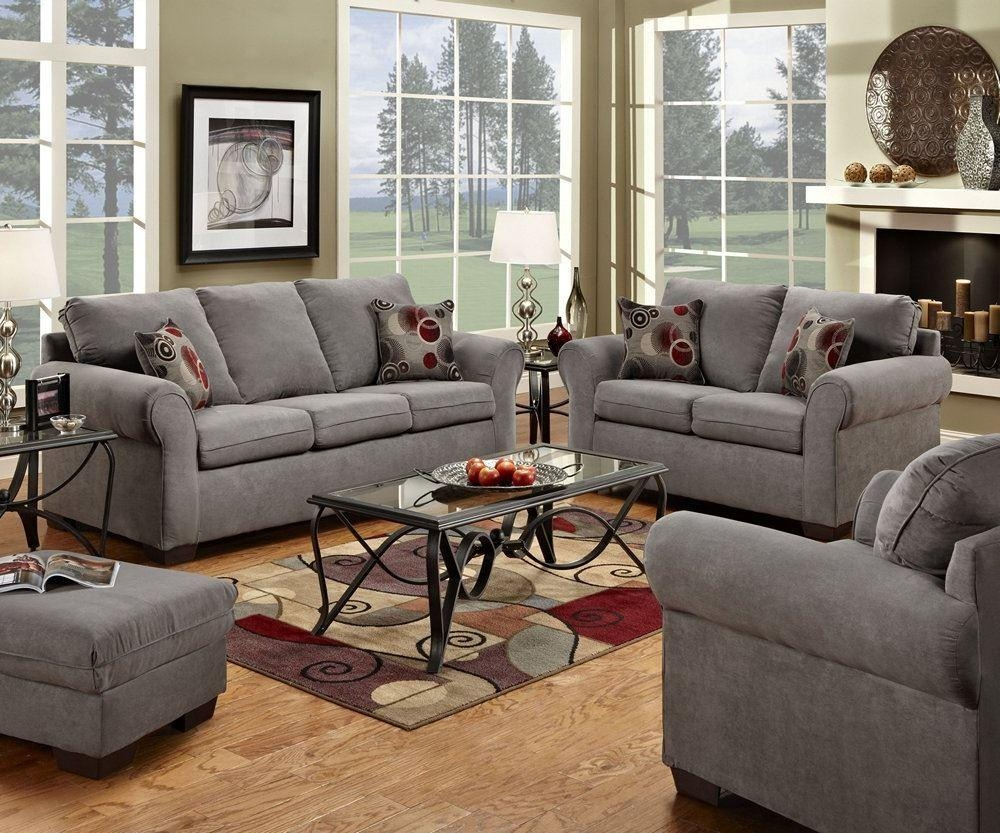 Simmons Living Room Set Sofa Set In Brass 8003Slc Traditional In Simmons Sofas And Loveseats (View 11 of 20)