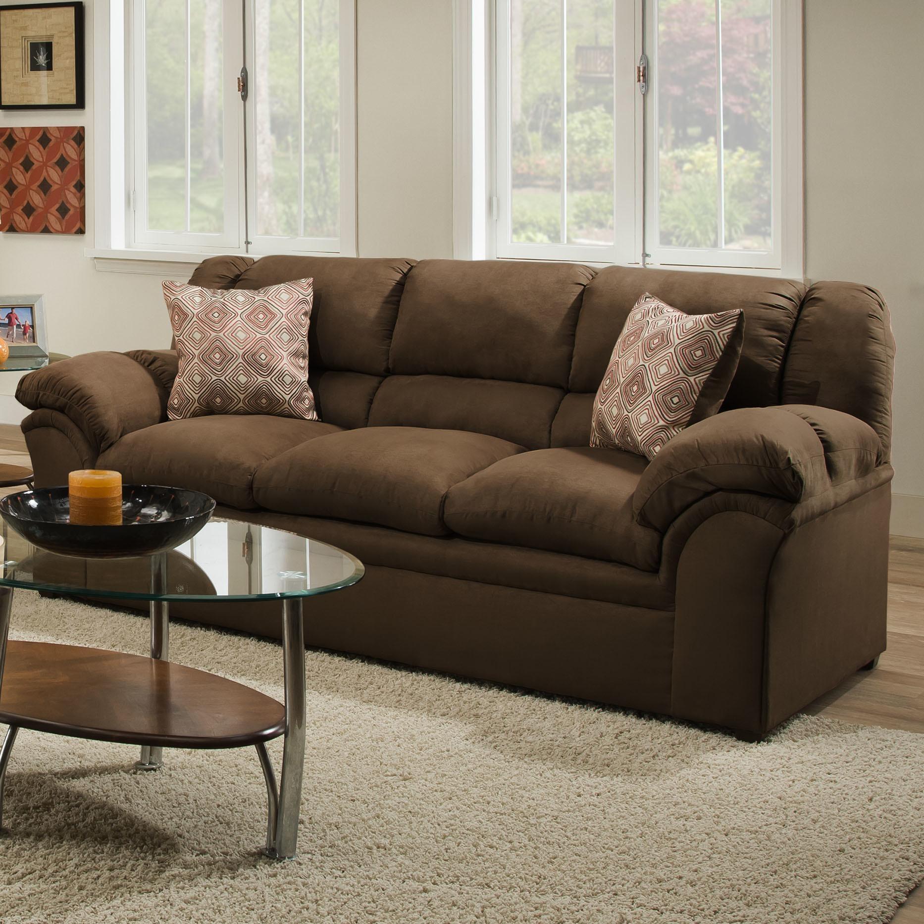 Simmons Microfiber Sofa Reviews – Modern Sofas | Tehranmix Decoration Throughout Simmons Microfiber Sofas (Image 14 of 20)