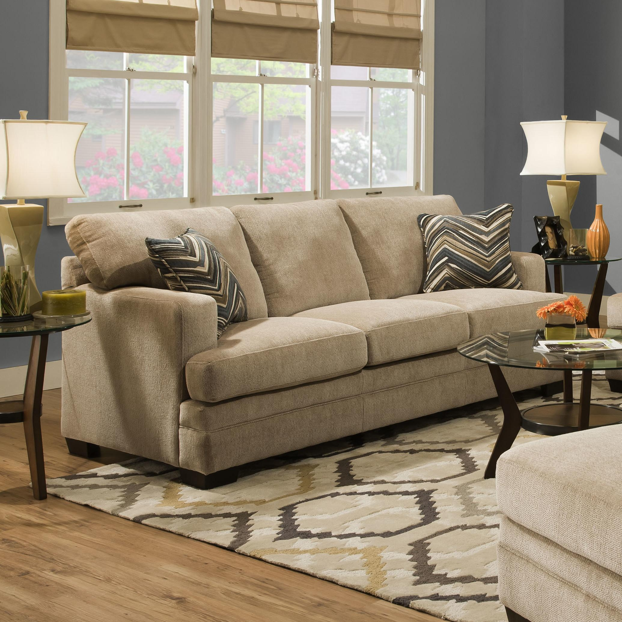 Simmons Microfiber Sofa Reviews Zipcode Design Ackers