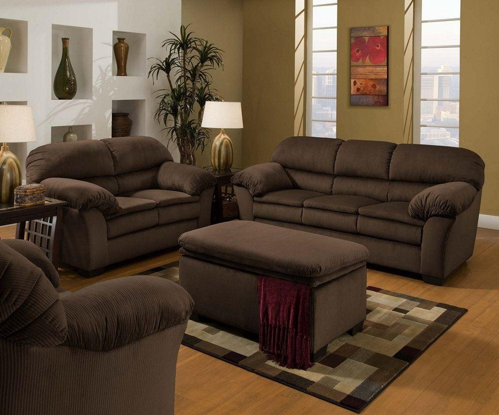 Simmons Upholstery 5209 Deluxe Microfiber Corduroy Sofa Loveseat For Simmons Sofas And Loveseats (View 13 of 20)