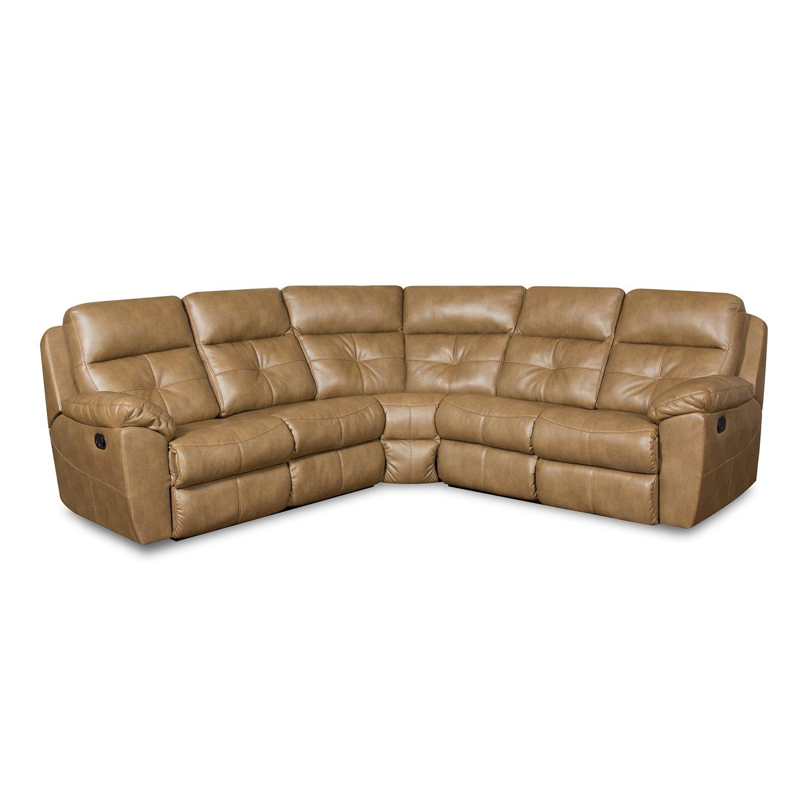 Simmons Upholstery Bradford Beautyrest Motion Sectional | Hayneedle Intended For Simmons Sectional Sofas (Image 13 of 20)