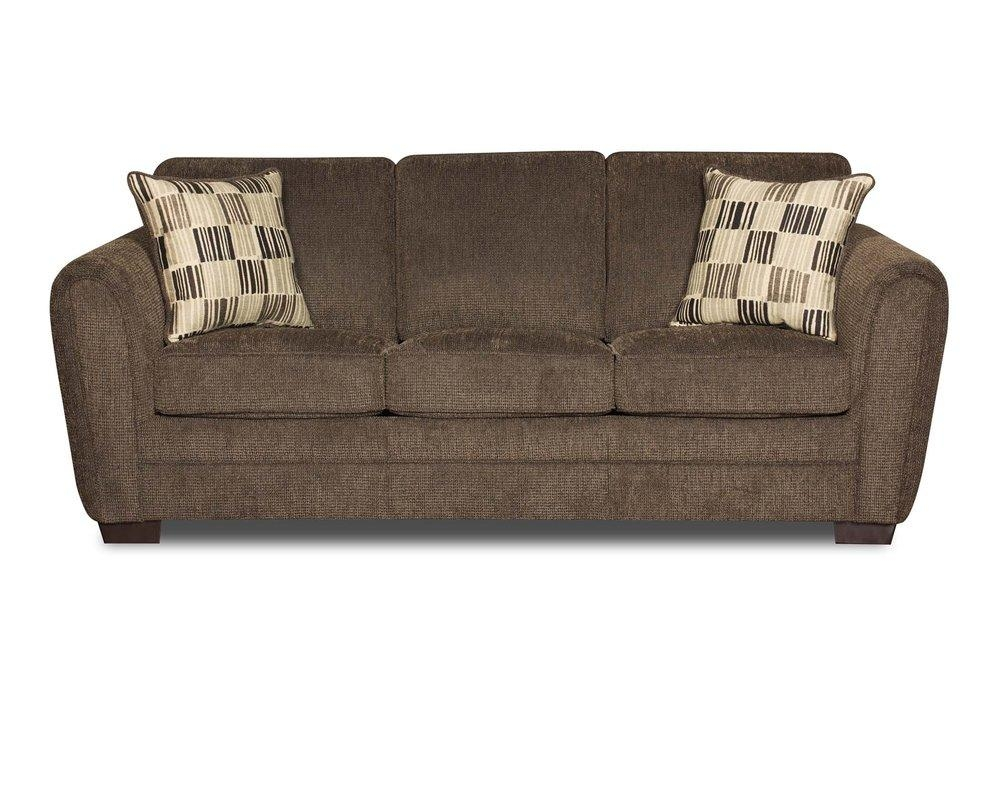 Simmons Upholstery Lucas Hide A Bed Sleeper Sofa & Reviews | Wayfair Throughout Sleeper Sofas (Image 10 of 20)