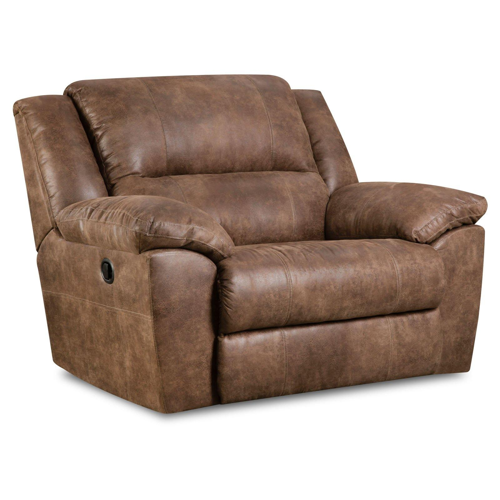 Simmons Upholstery Phoenix Double Motion Sofa – Mocha | Hayneedle Throughout Simmons Leather Sofas (Image 15 of 20)