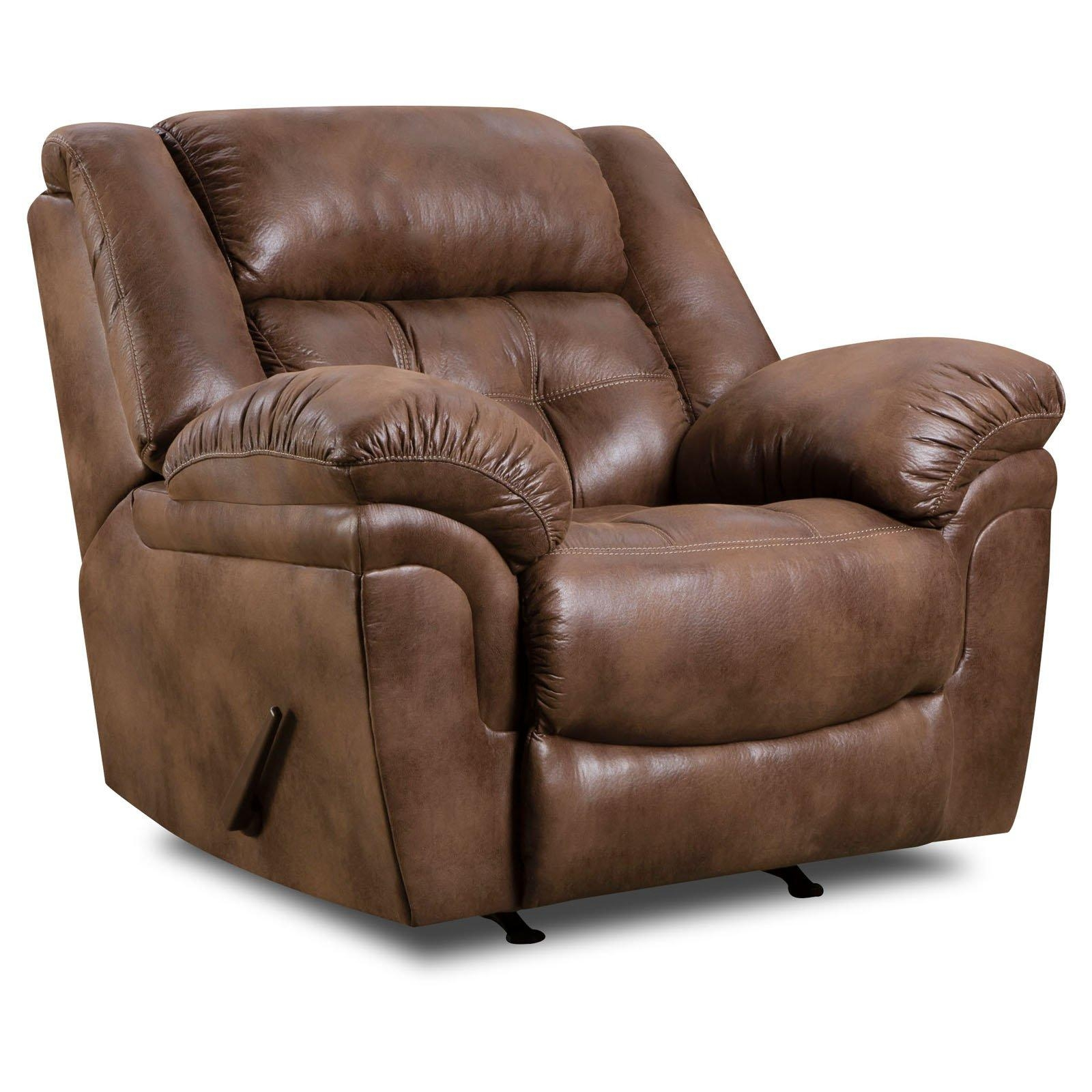 Simmons Upholstery Wisconsin Beautyrest Sofa – Chocolate | Hayneedle With Simmons Leather Sofas (Image 18 of 20)