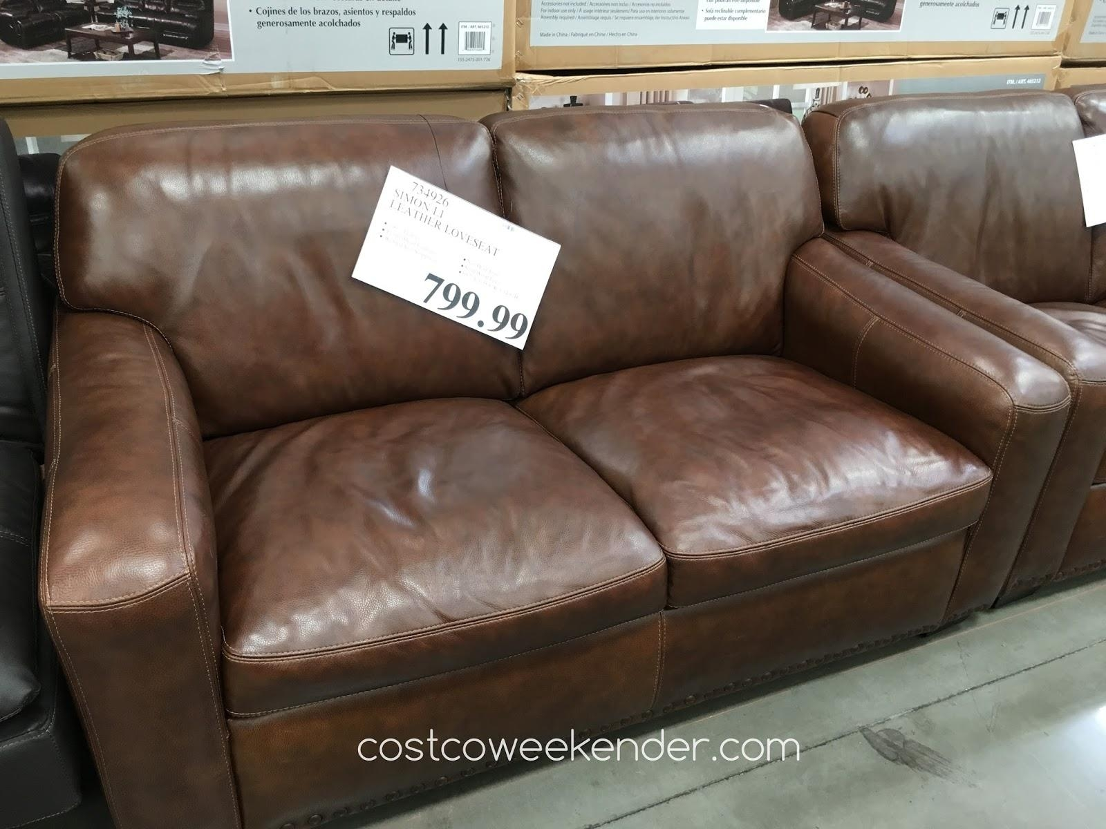 Simon Li Sofa Costco | Tehranmix Decoration With Regard To Simon Li Loveseats (Image 17 of 20)
