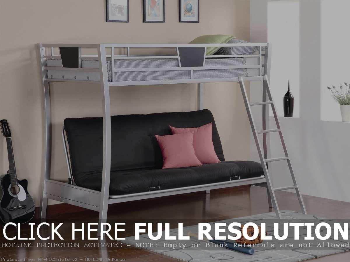 Simple Couch Bunk Bed Combo With Desk And Convertible Sofa Into With Regard To Sofas Converts To Bunk Bed (Image 19 of 20)