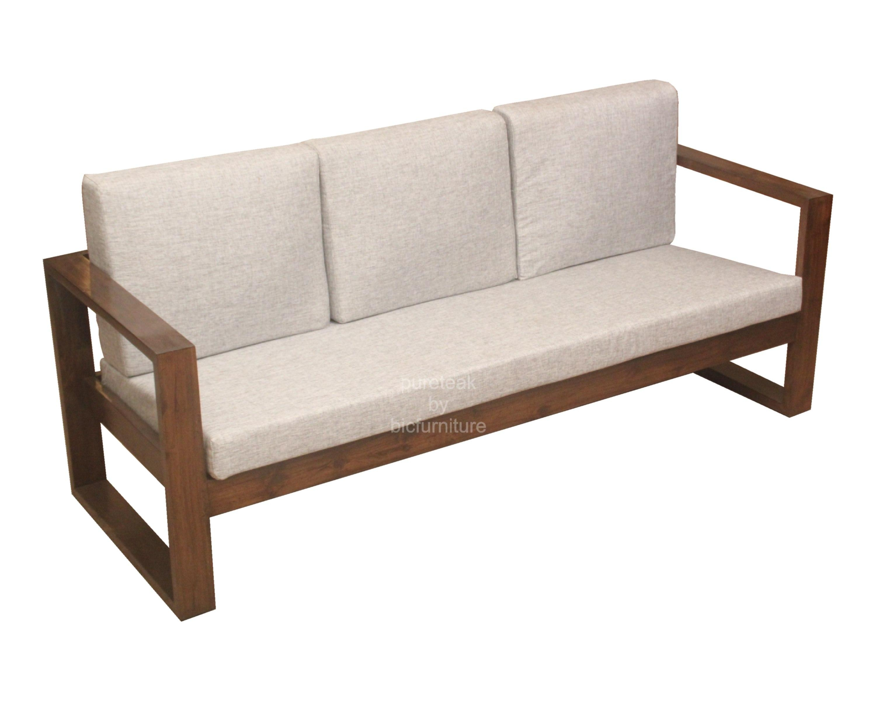 Simple Wooden Sofa Set Designs – Interior Design Throughout Simple Sofas (View 3 of 20)