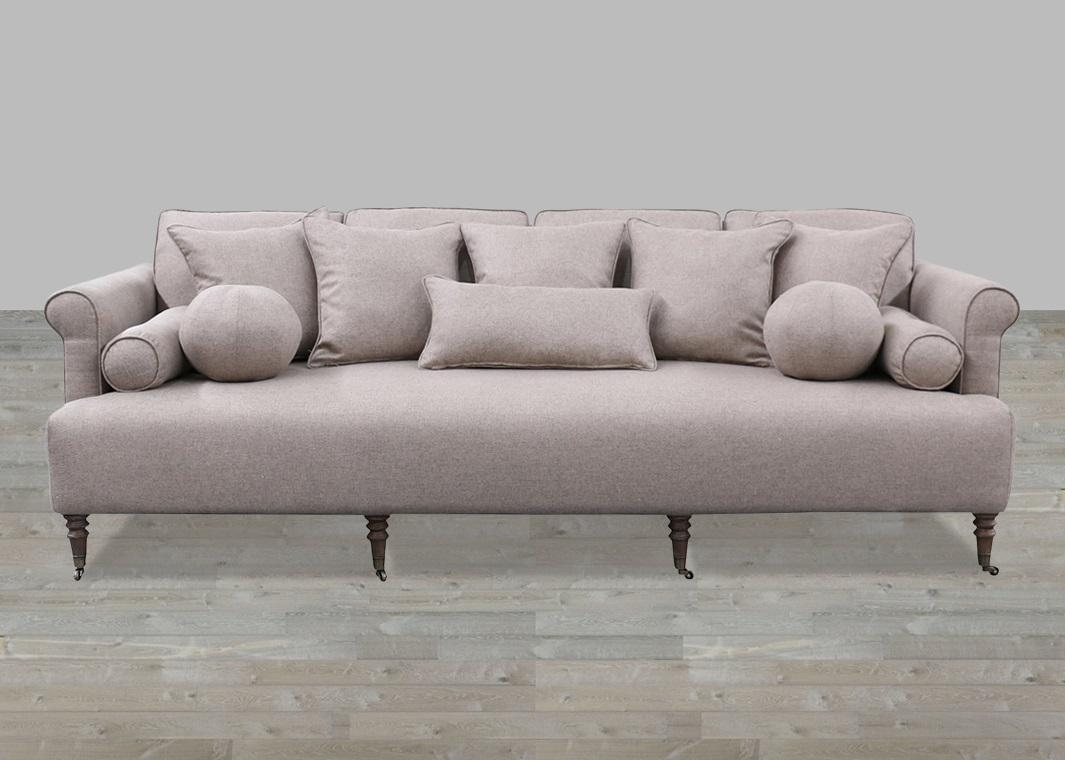 Single Cushion Sofa Couch   Cushions Decoration Intended For Deep Cushion Sofa (Image 16 of 20)