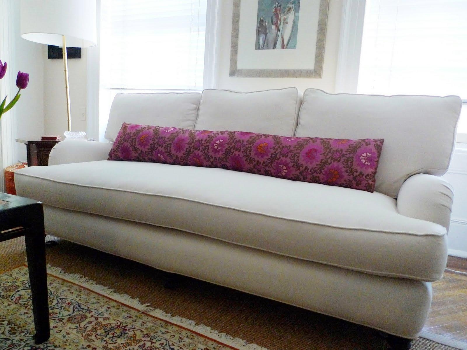 Single Cushion Sofa | Cushions Decoration For One Cushion Sofas (Image 16 of 20)