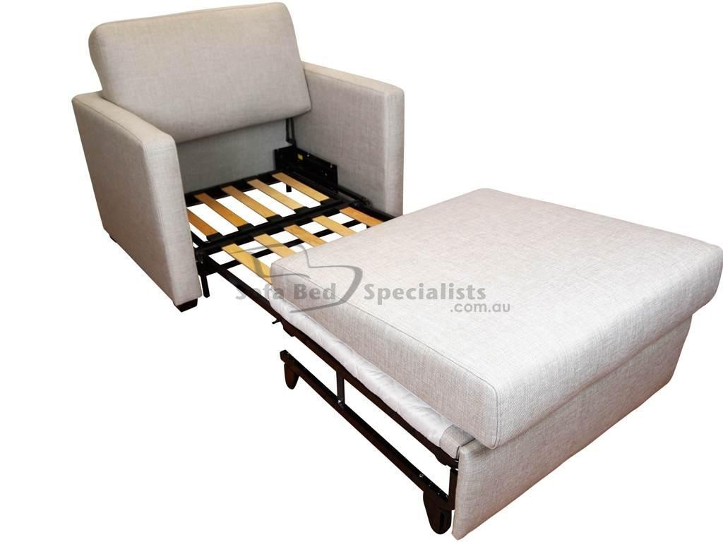 Single Sofa Bed | Designerstyle With Single Futon Sofa Beds (View 19 of 20)