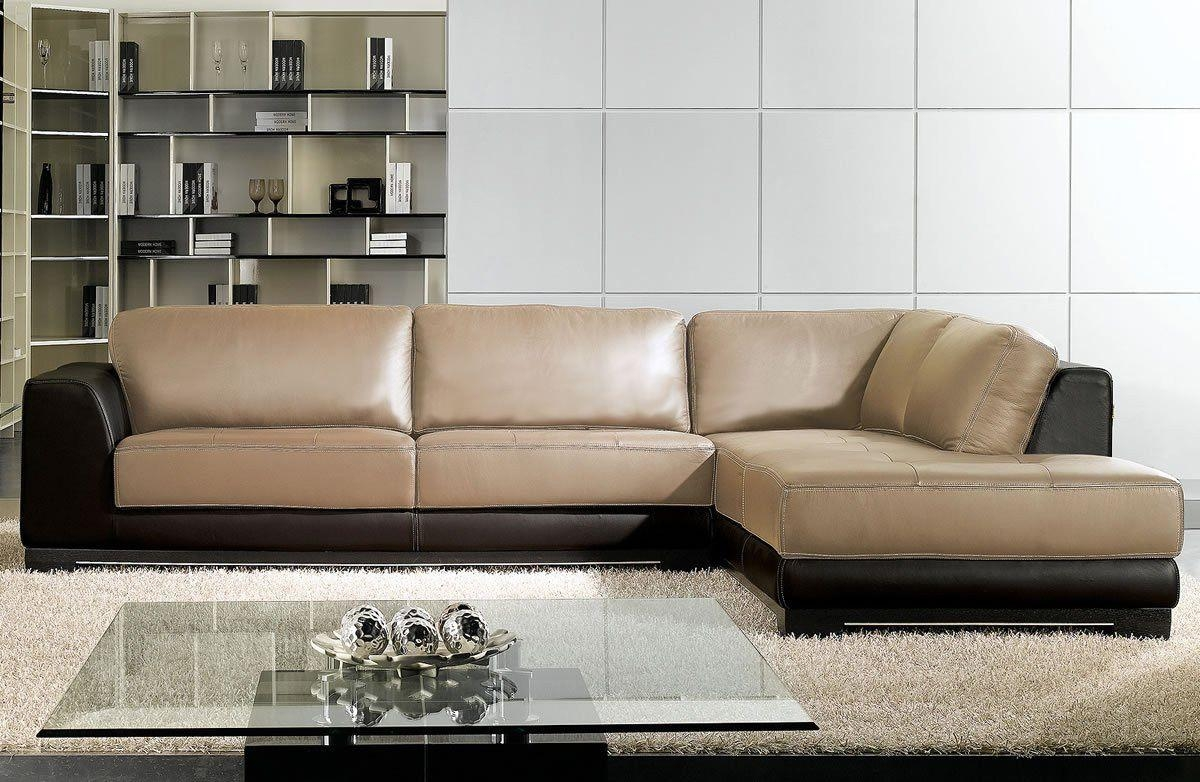 Sleek Sectional Sleeper Sofa: 13 Awesome Sleek Sectional Sofas With Sleek Sectional Sofa (Image 16 of 20)