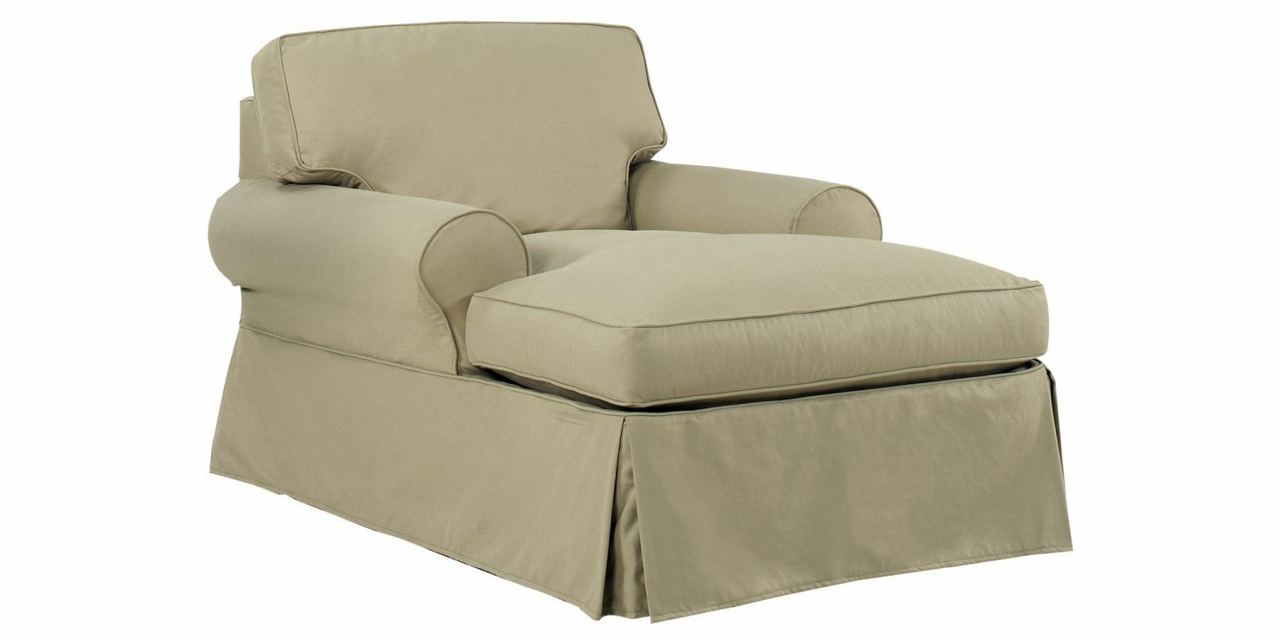 Slipcovered Chaise Lounge Chair | Club Furniture Within Slipcovered Chaises (View 3 of 20)