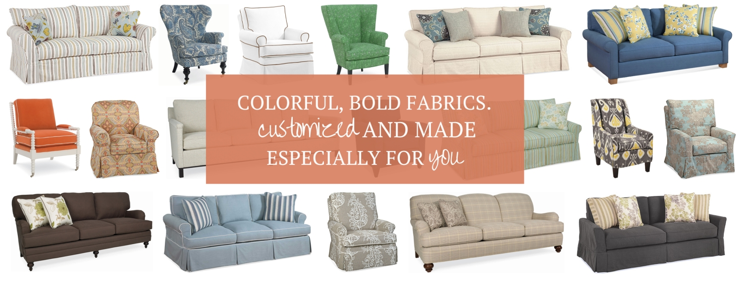 Slipcovered Furniture – Washable Fabrics   Cottage Home® Pertaining To Cottage Style Sofas And Chairs (View 9 of 20)