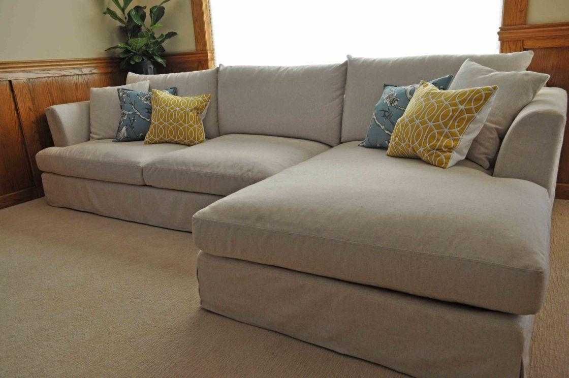 Slipcovered Sectional Couches | Tehranmix Decoration For Chaise Sectional Slipcover (Image 12 of 15)