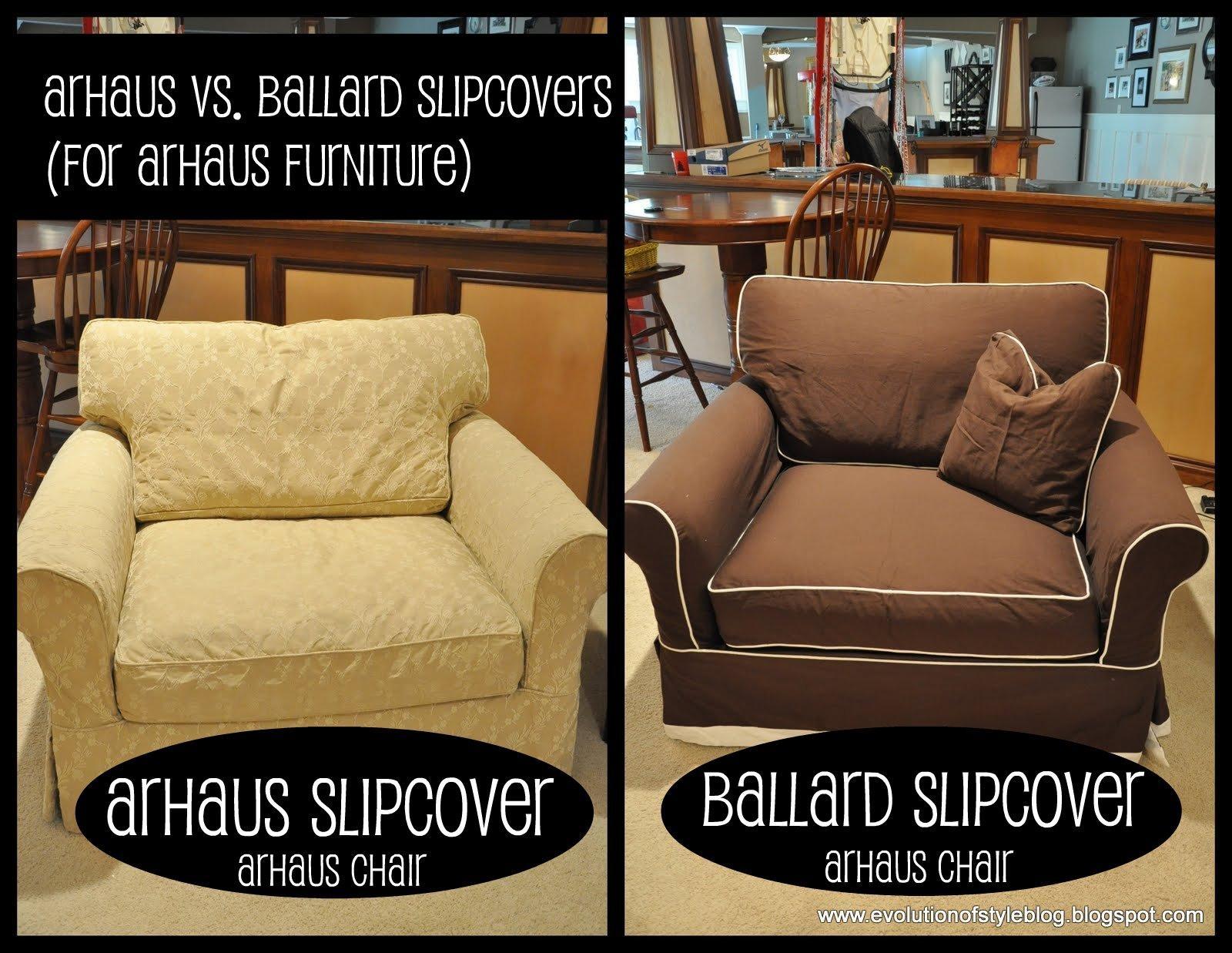 Slipcovers: Arhaus Vs. Ballard – Evolution Of Style Inside Arhaus Slipcovers (Photo 4 of 20)
