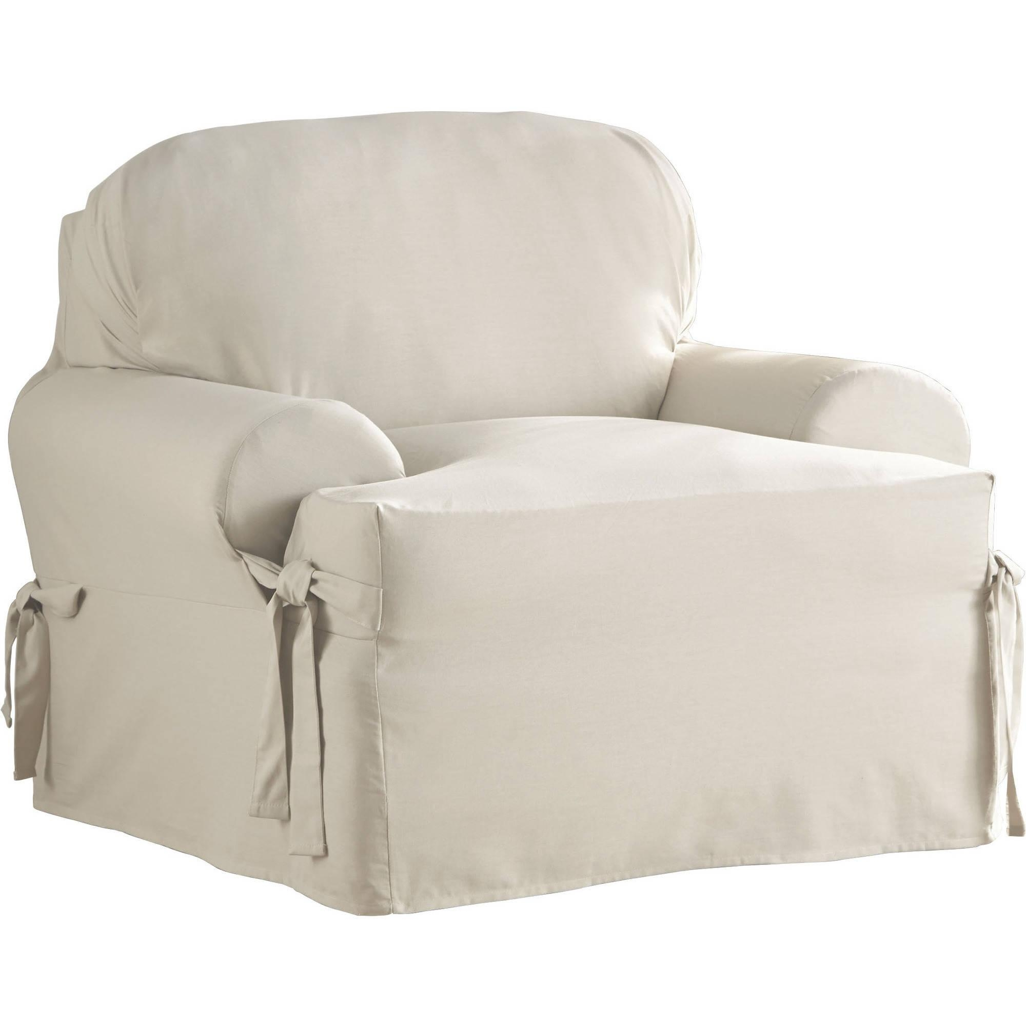 Slipcovers – Walmart Regarding Slipcovers For Chairs And Sofas (Image 18 of 20)