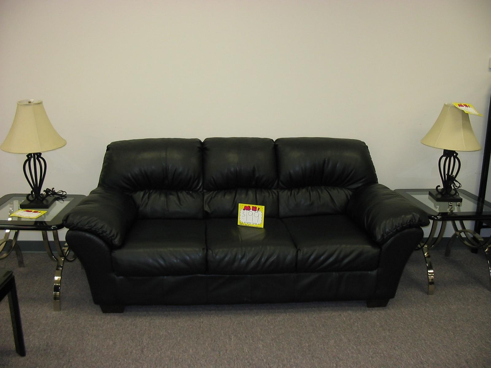 Small Black Leather Sofa With Concept Hd Gallery 42774 | Kengire Regarding Small Black Sofas (Image 14 of 20)