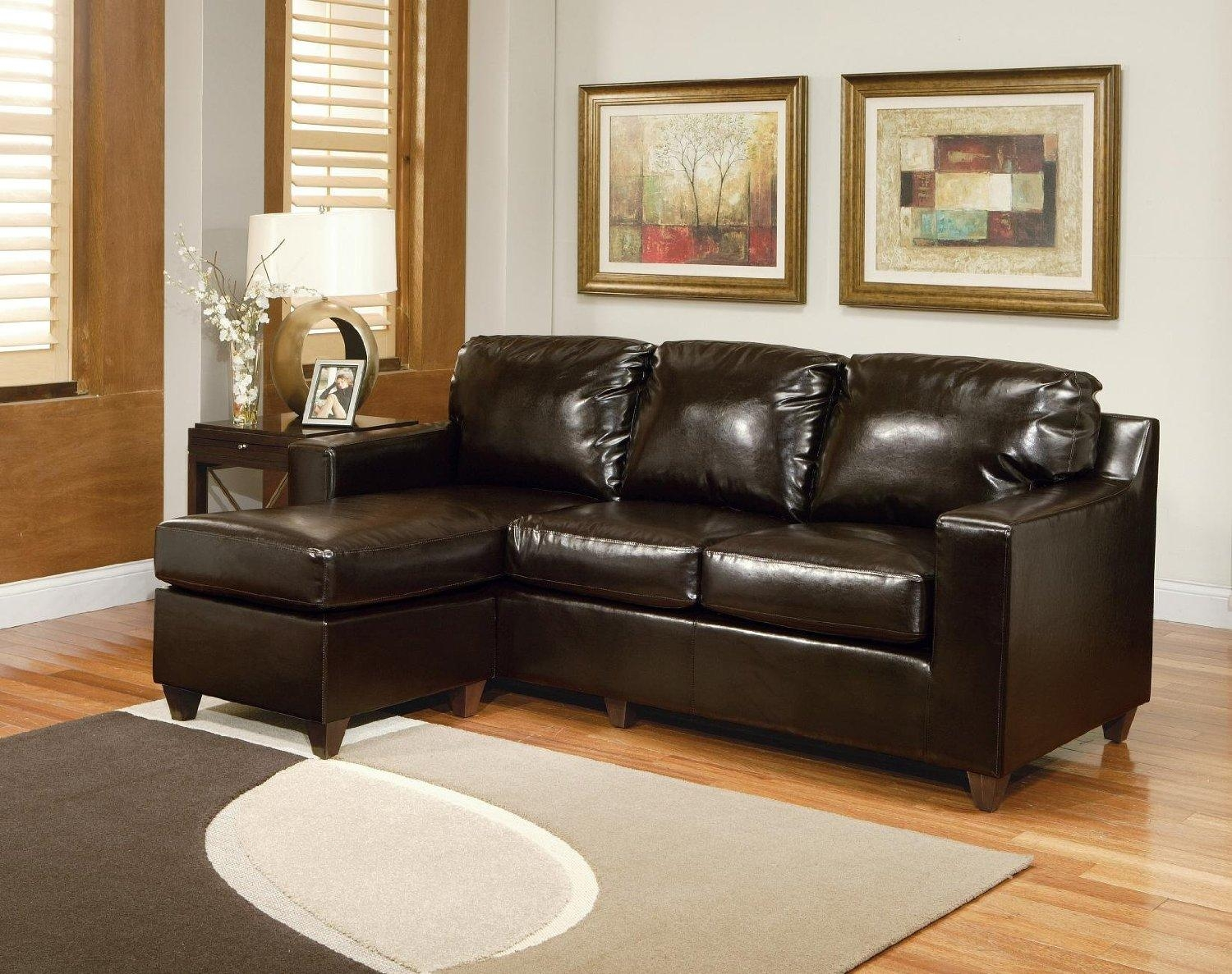 Small Black Sectional Sofa | Sofa Gallery | Kengire With Regard To Small Black Sofas (Image 17 of 20)