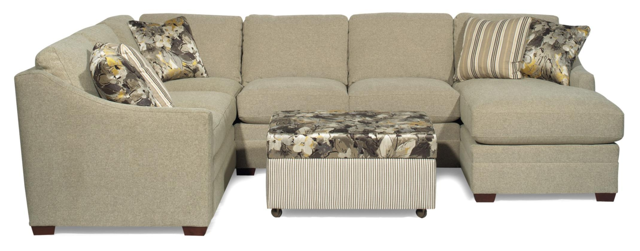Small Craftmaster Sectional Sofa: 10 Cool Craftmaster Sectional With Craftmaster Sectional (Image 14 of 15)