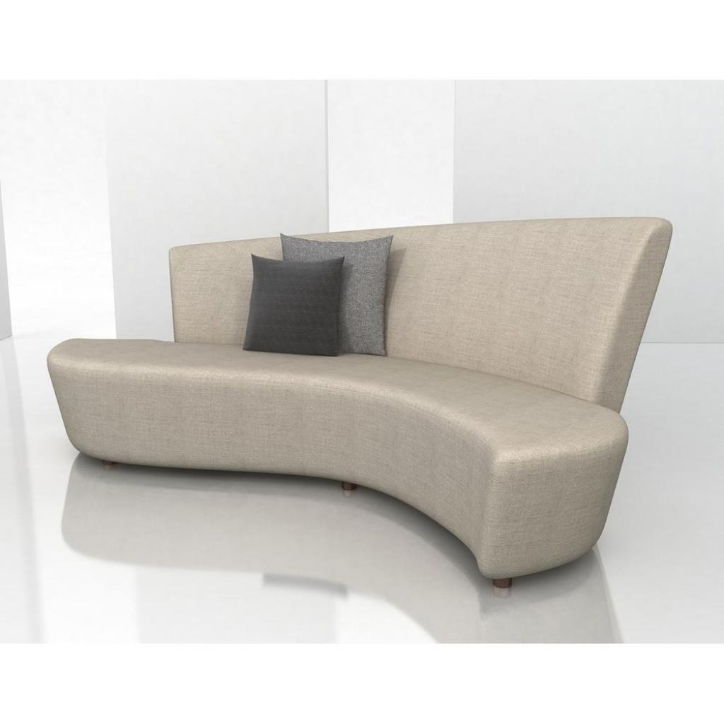 Small Curved Sofa | Sofa Gallery | Kengire Pertaining To Small Curved Sectional Sofas (View 20 of 20)