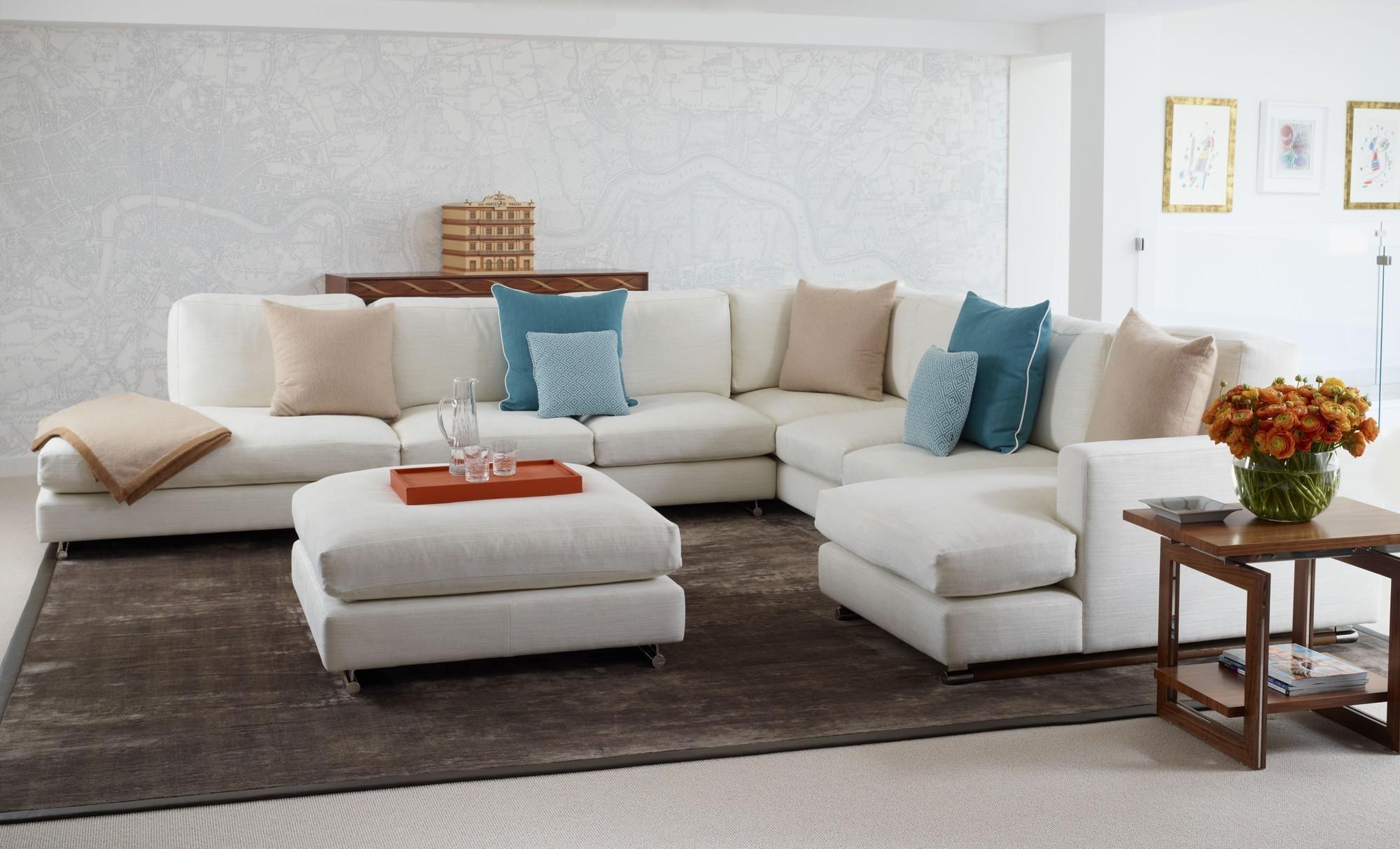 Small L Shaped Sofa | Sofa Gallery | Kengire Regarding Small L Shaped Sofas  (Image