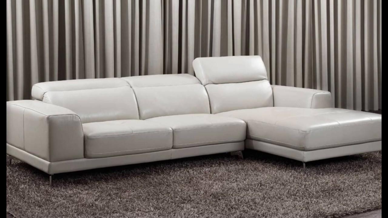 Small Leather Corner Sofas – Youtube Intended For Leather Corner Sofas (Image 16 of 20)
