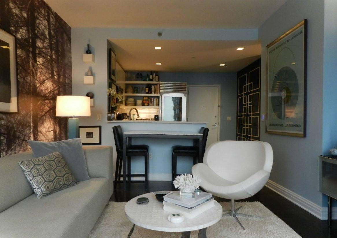 Small Scale Furniture: Best Choices For Tiny Living Room Designs Pertaining To Small Scale Sofas (Image 5 of 20)