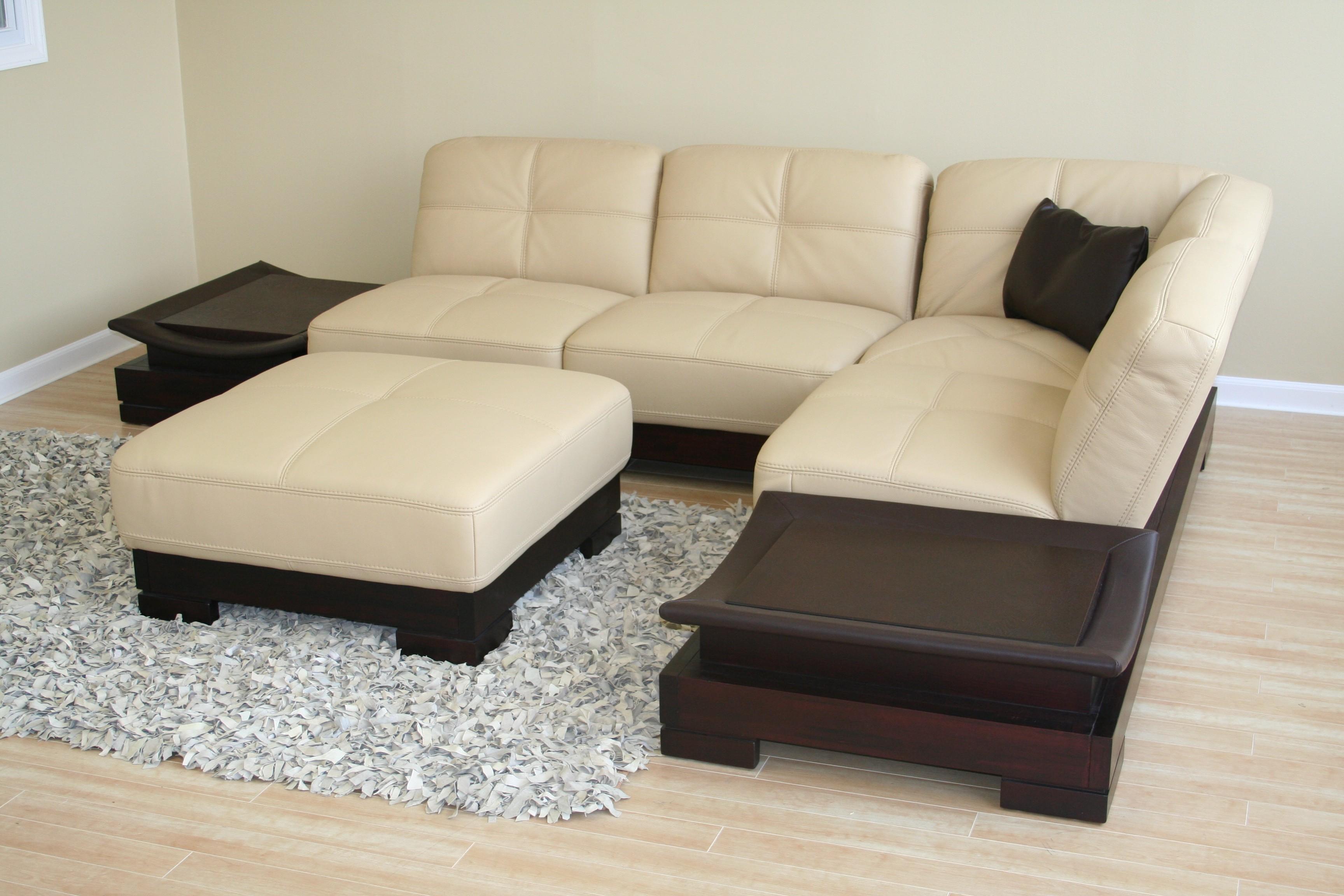 Small Scale Leather Sofa €  Hereo Sofa | Tehranmix Decoration Regarding Small Scale Leather Sectional Sofas (Image 12 of 20)