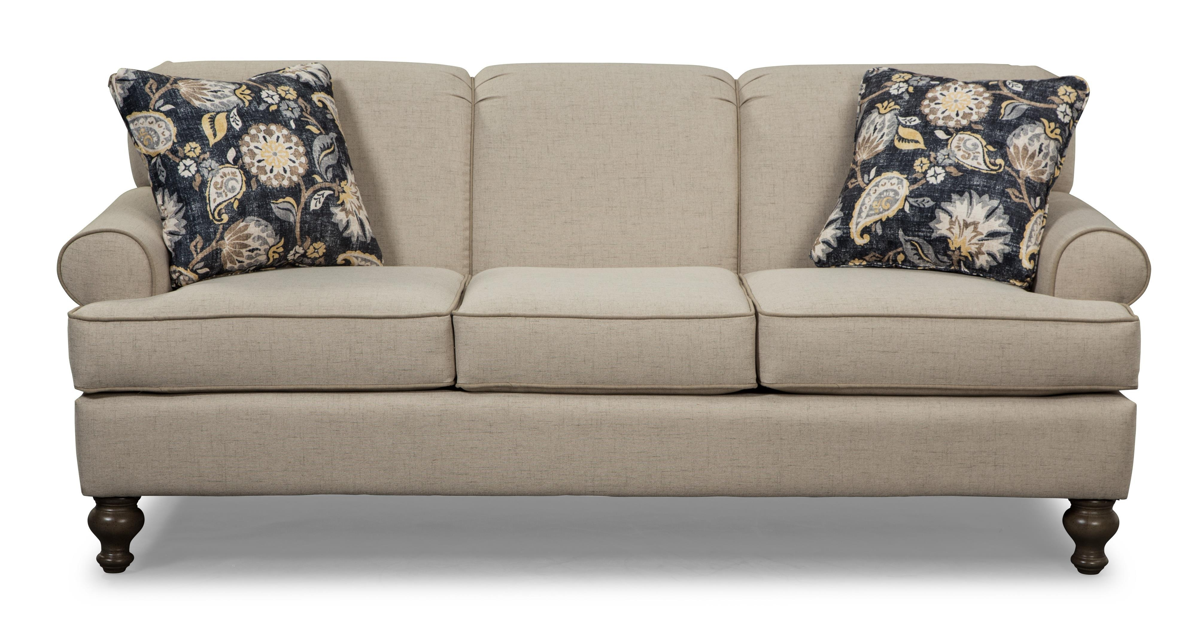 Small Scale Traditional Sofacraftmaster | Wolf And Gardiner Throughout Small Scale Sofas (View 2 of 20)