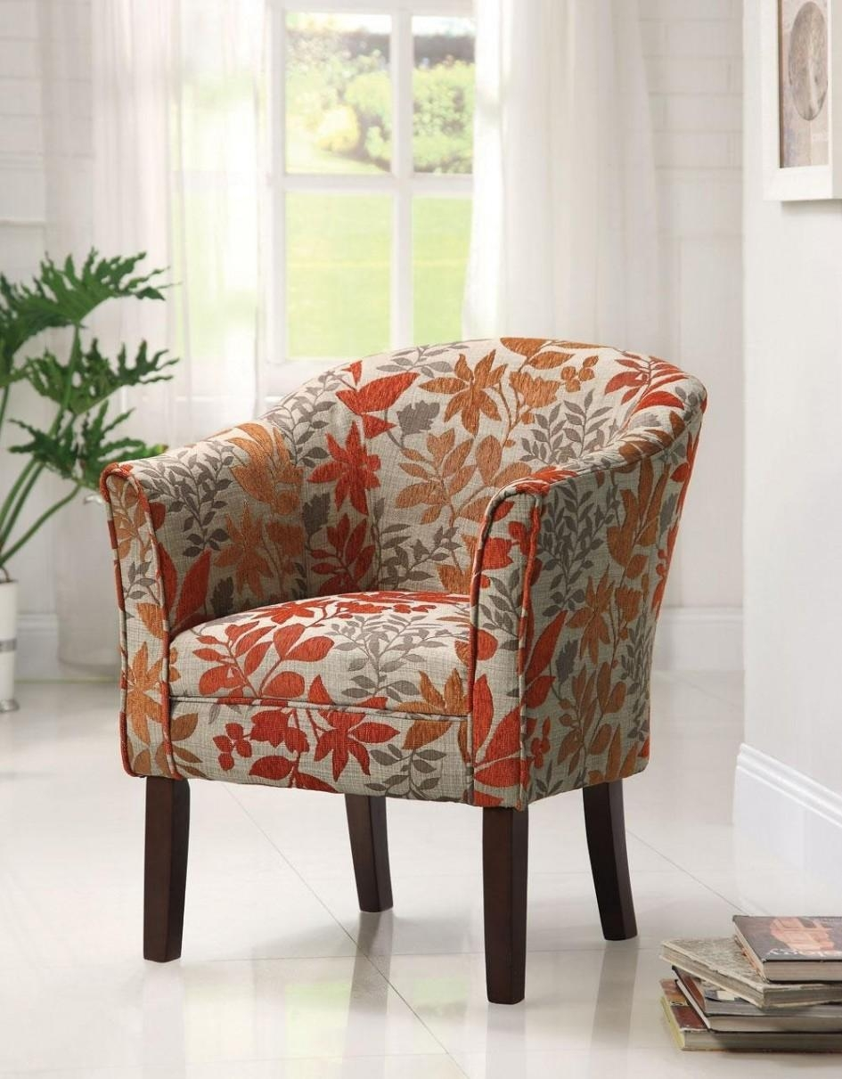 Small Sofa Chair | Sofa Gallery | Kengire With Floral Sofas And Chairs (View 9 of 20)