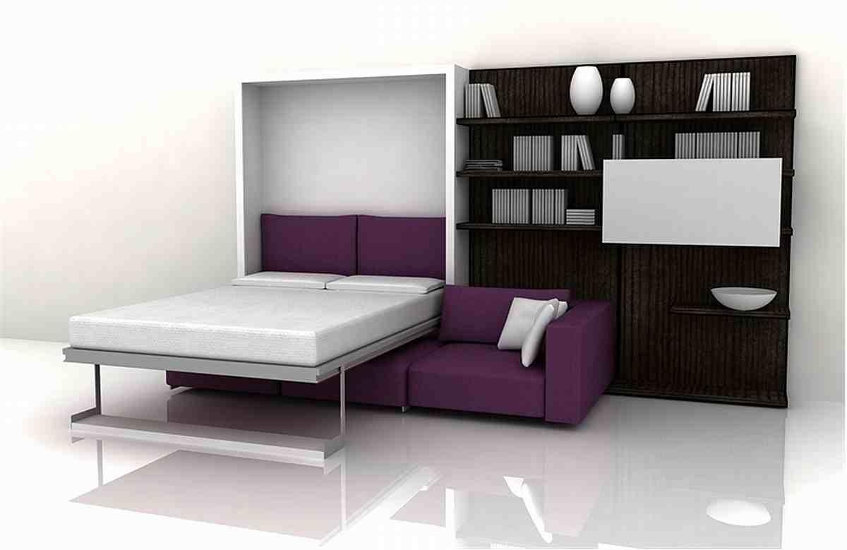 Small Spaces: Creative Idea With Foldable Furniture For Small Within Fold Up Sofa Chairs (Image 17 of 22)