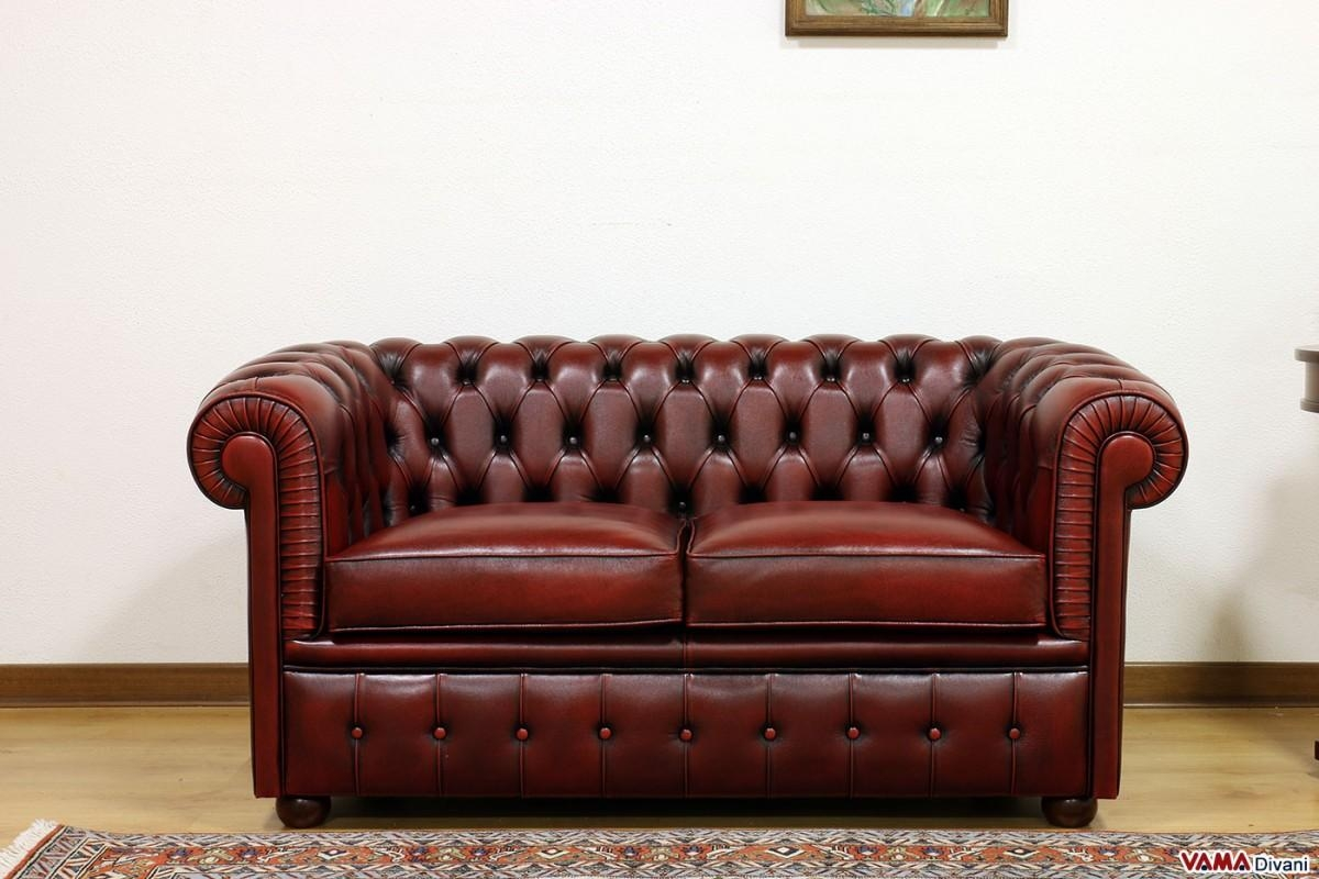 Smaller Chesterfield Sofa: Chesterino Throughout Red Chesterfield Chairs (Image 18 of 20)